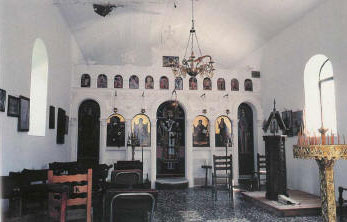 Amarandos, interior of a church AMARADOS (Village) KARDITSA
